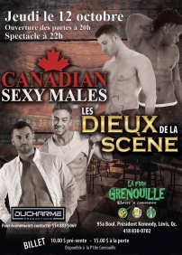 Canadian Sexy Males