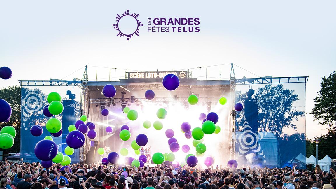 Les Grandes Fêtes TELUS - 4-day pass