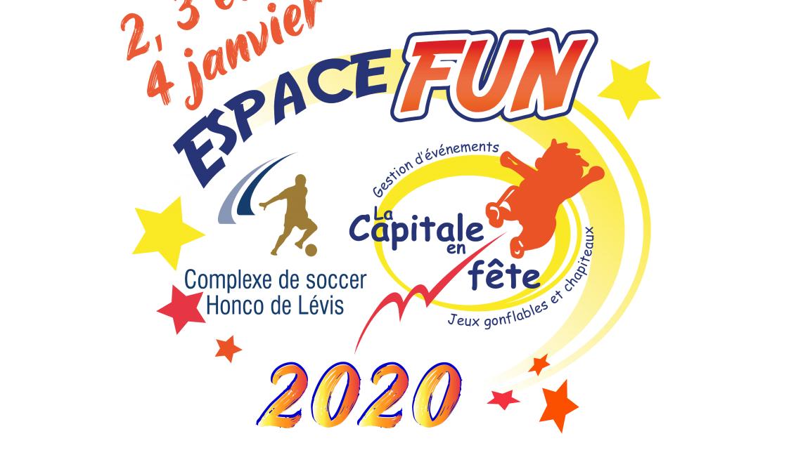Espacefun Fun 2 janvier 2020