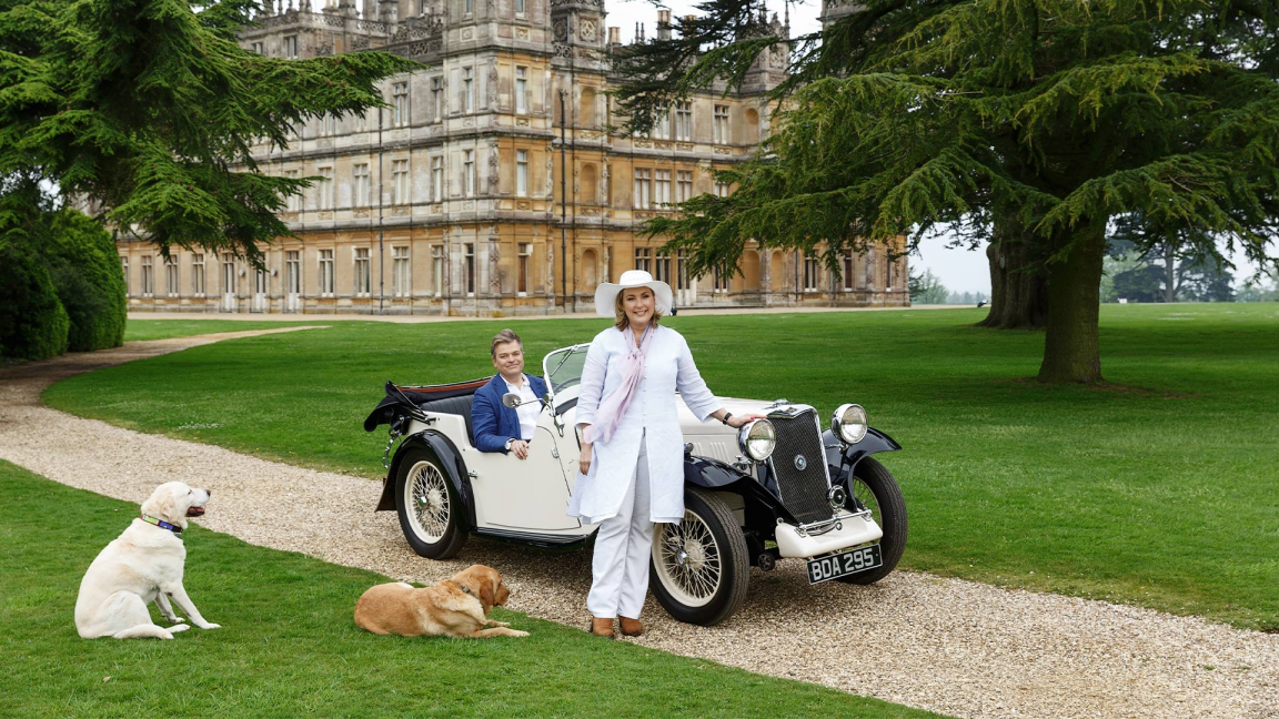 COMPLET - L'art de recevoir à Downton Abbey / Entertaining at the real Downton Abbey