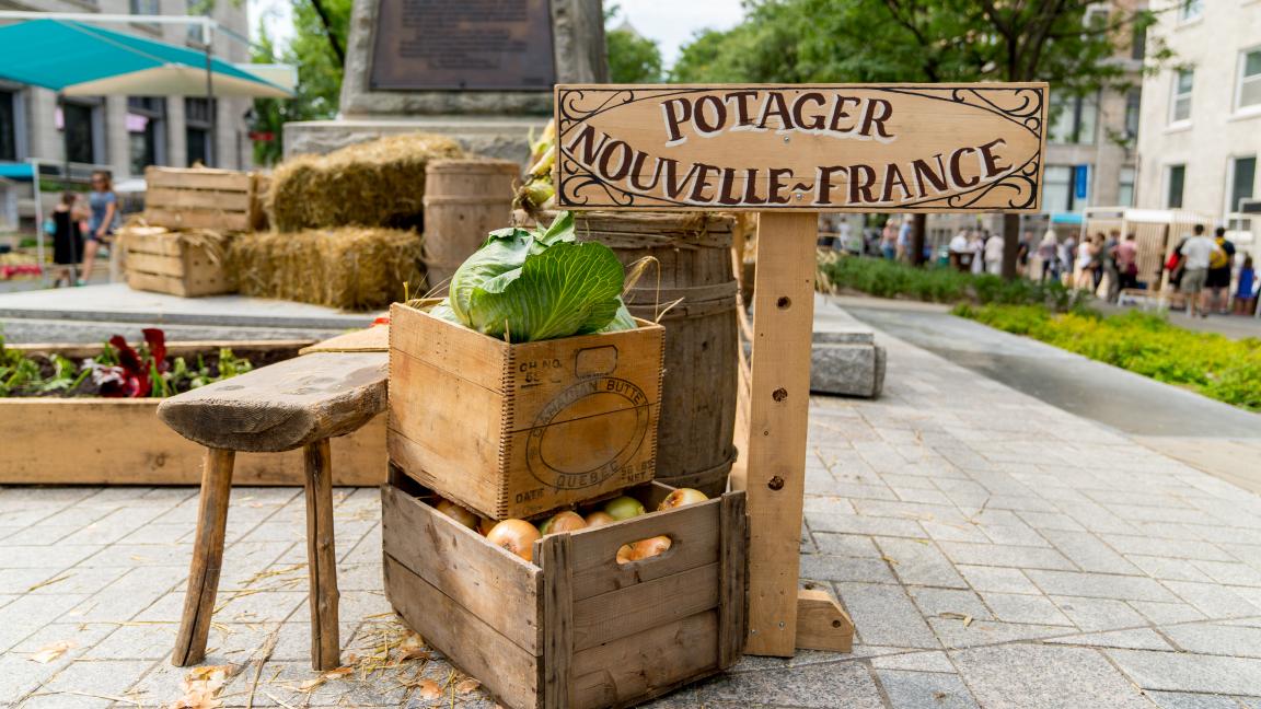 Conférence : Gastronomie en Nouvelle-France