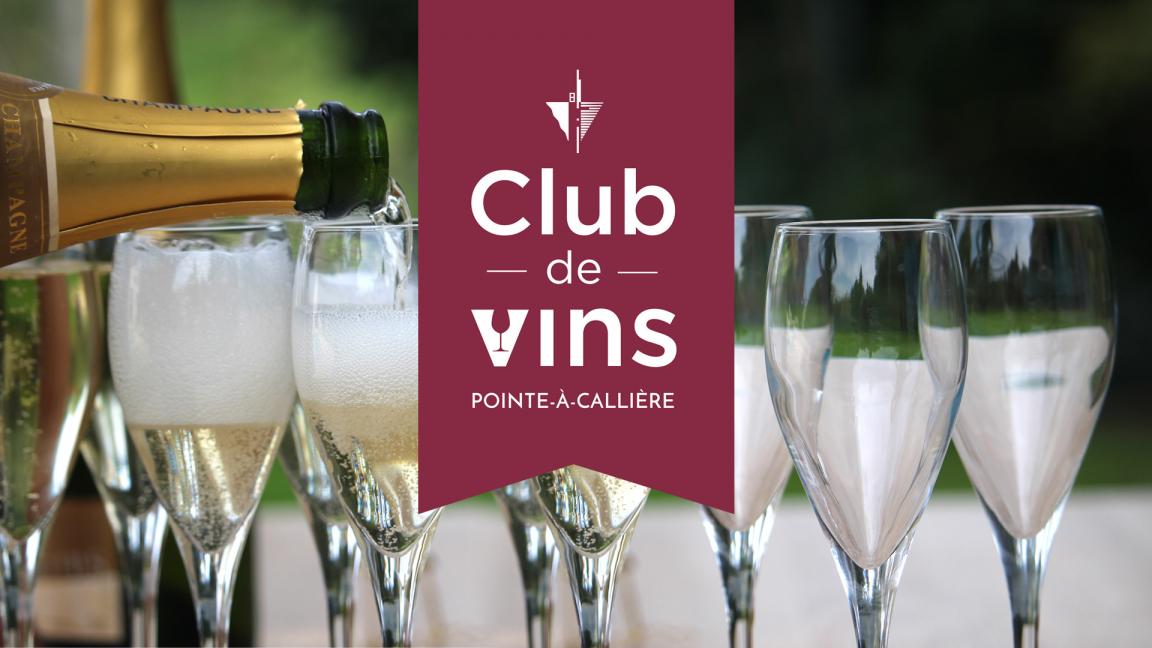Club de vins à Pointe-à-Callière : champagne