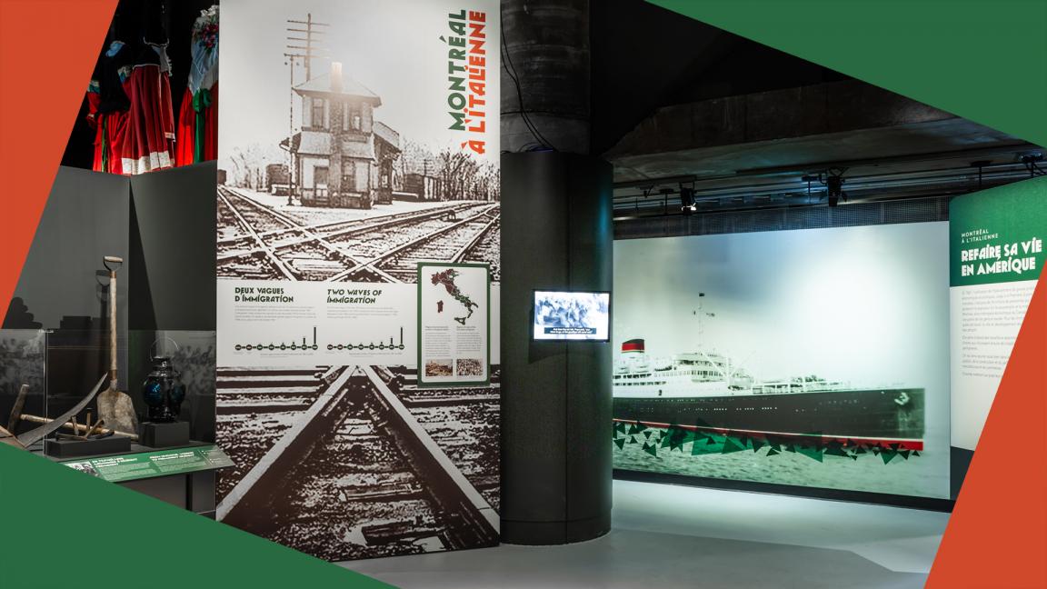 Visite guidée virtuelle de l'exposition Montréal à l'italienne