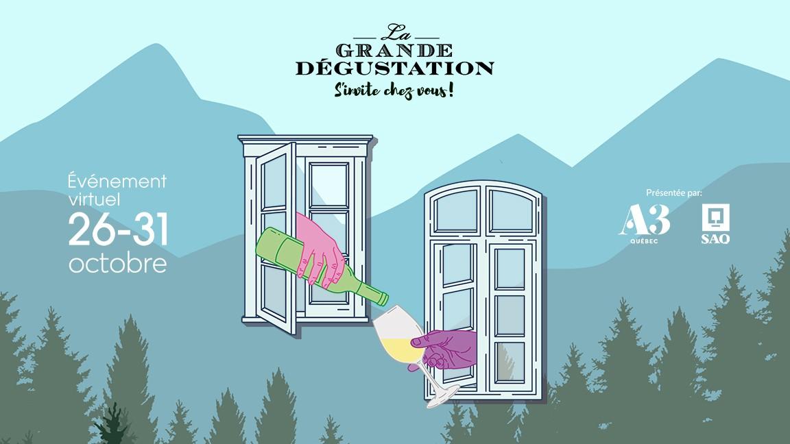 Launch - La Grande Dégustation s'invite chez vous!