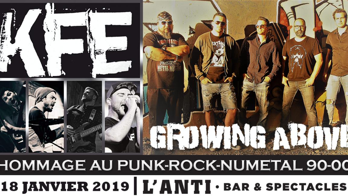 Hommage au Punk–Rock–Nu metal 90's - 00's