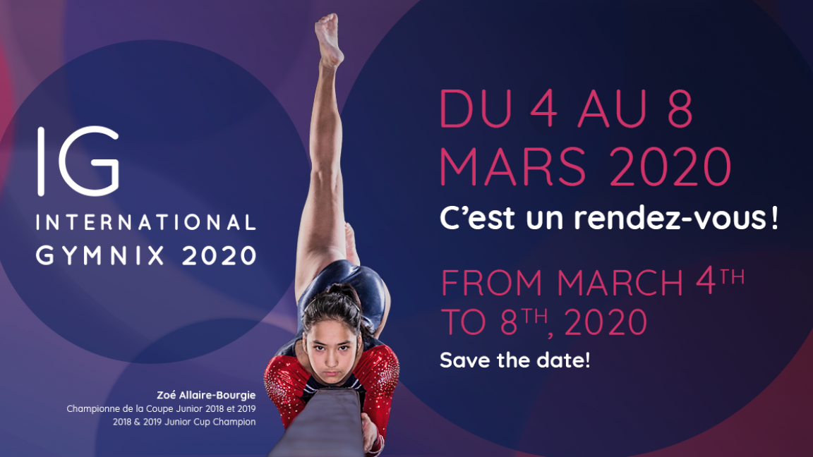 International Gymnix 2020 - Sunday March 8th