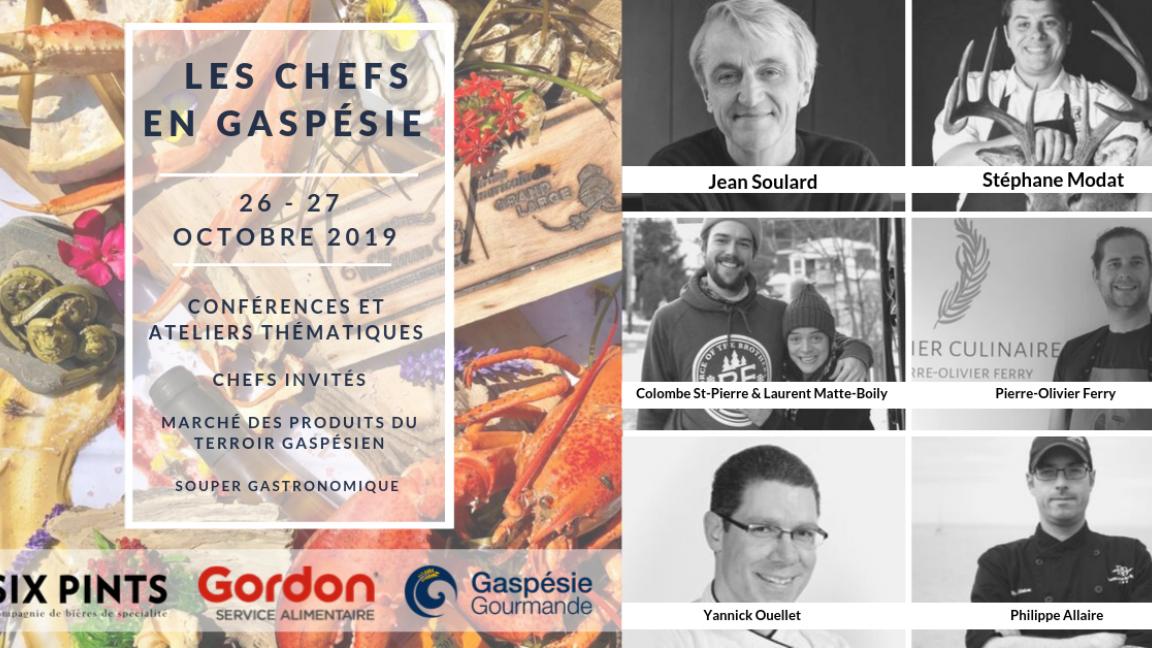 Les Chefs en Gaspésie - ADMISSION 2 JOURS