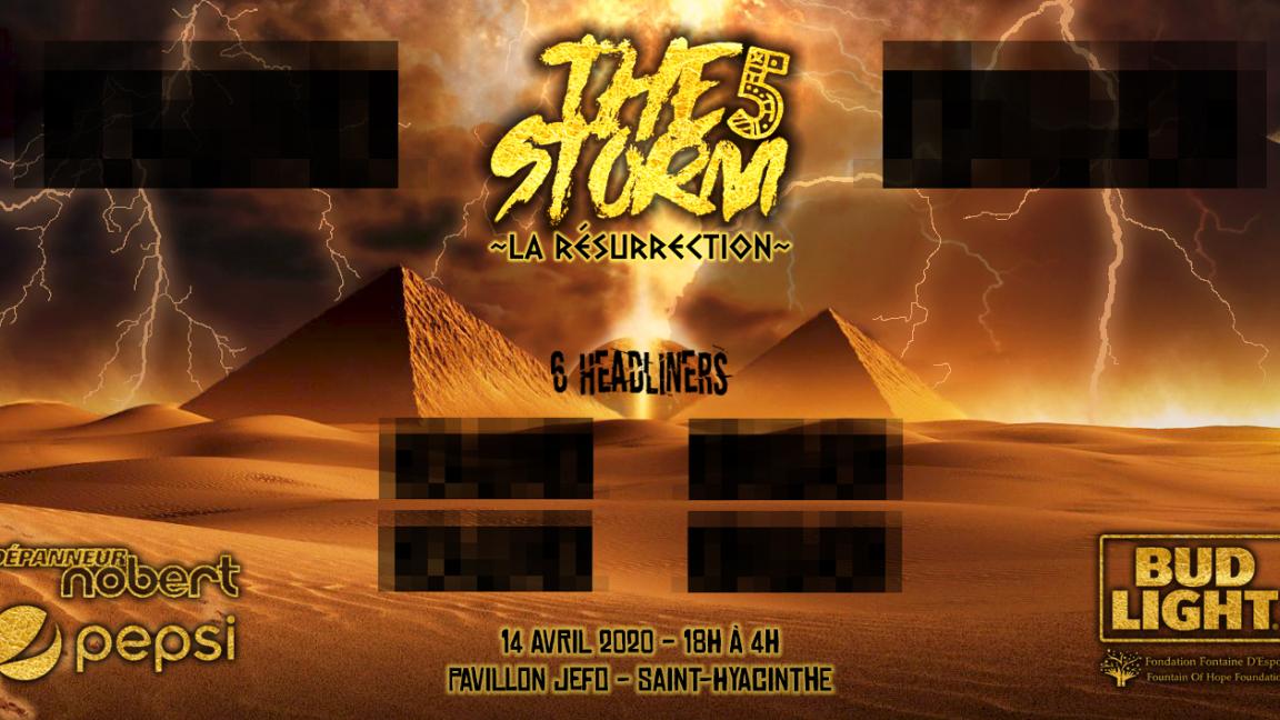The STORM 5 : LA RÉSURRECTION
