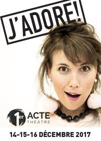 Productions Héméra presents J'ADORE: Charlie Jutras – December 16th 2017 – Premier Acte, Québec, QC