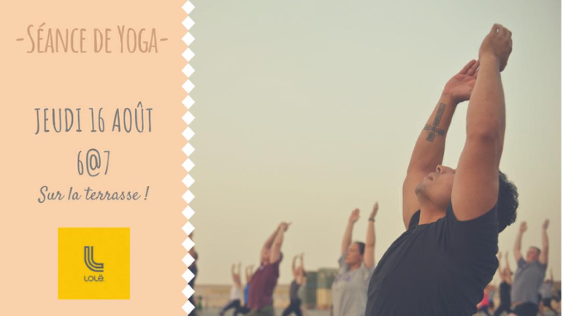 Yoga gratuit avec Lolë
