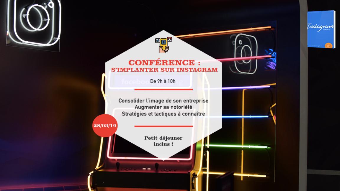 Matinée conférence : Comment développer son entreprise grâce à Instagram