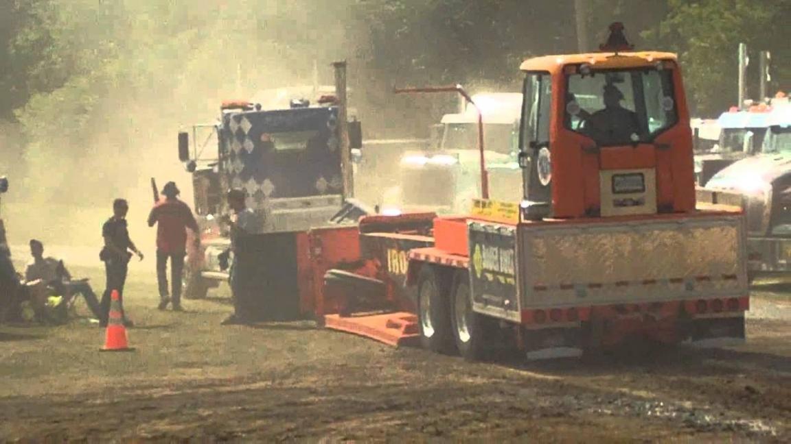 Tire de camion