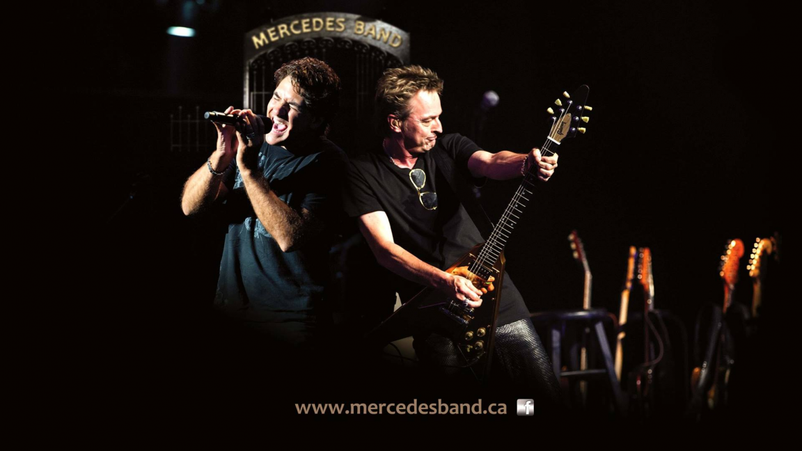 MERCEDES BAND 20 ANS DE ROCK