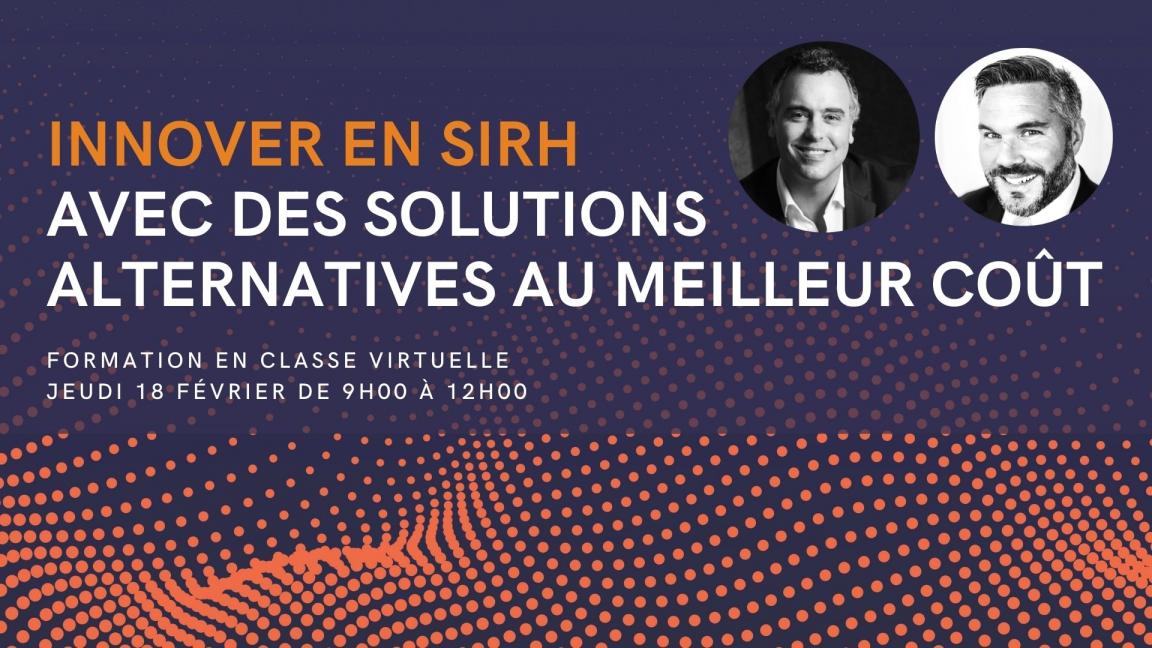 Innover en SIRH avec des solutions alternatives au meilleur coût