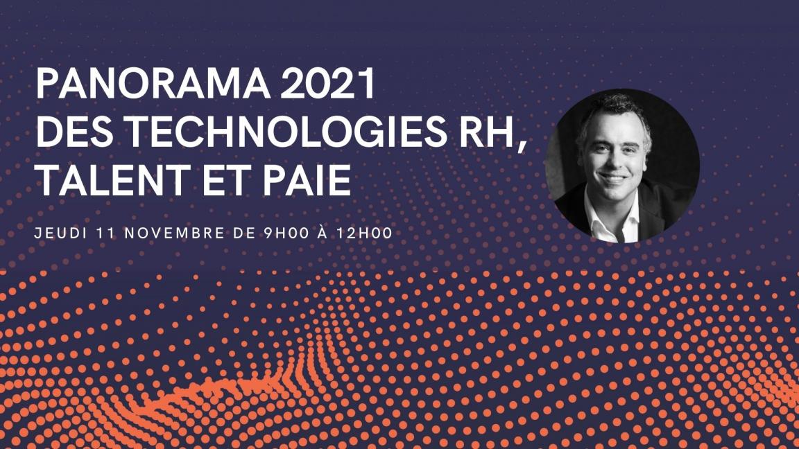 Panorama 2021 des technologies RH, talent et paie (Événement gratuit)