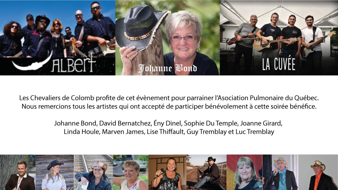 Souper et soirée bénéfice pour L'Association Pulmonaire du Québec