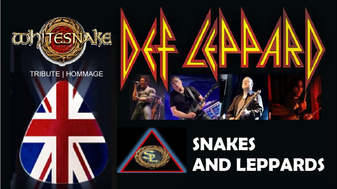 Hommage à Def Leppard et Whitesnake