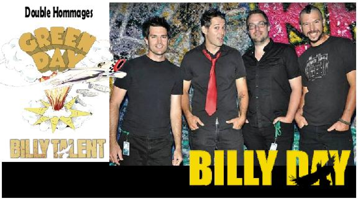 Double hommages | Green Day et Billy Talent
