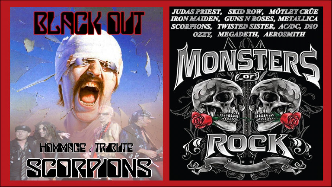 Hommage à Scorpions + Monsters of Rock