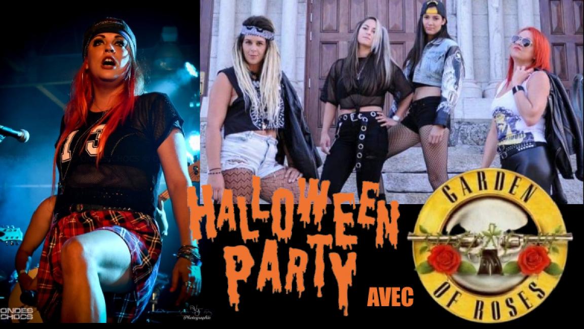 Party Halloween Hommage à Guns N' Roses
