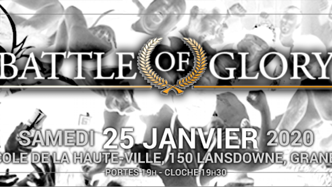 Lutte GEW : Battle of Glory