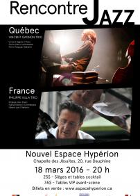 Rencontre Jazz Québec-France