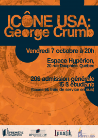 Icône USA: George Crumb