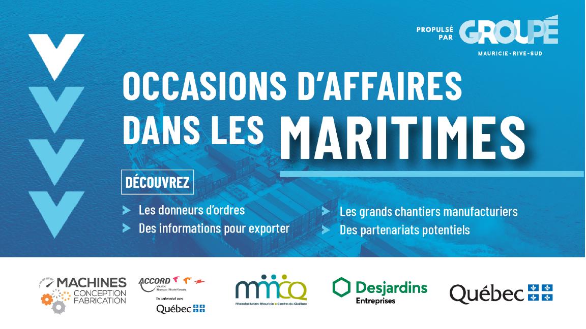 Occasions d'affaires dans les Maritimes : cap sur des opportunités uniques pour votre entreprise!
