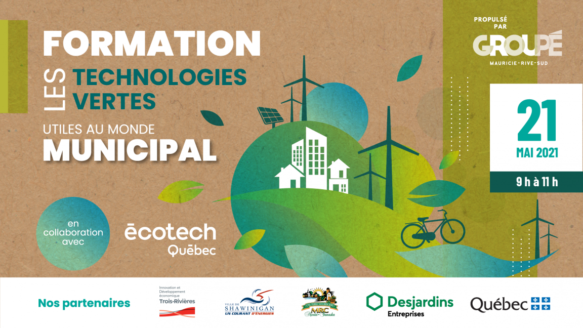 Technologies vertes applicables au domaine municipal : tour d'horizon