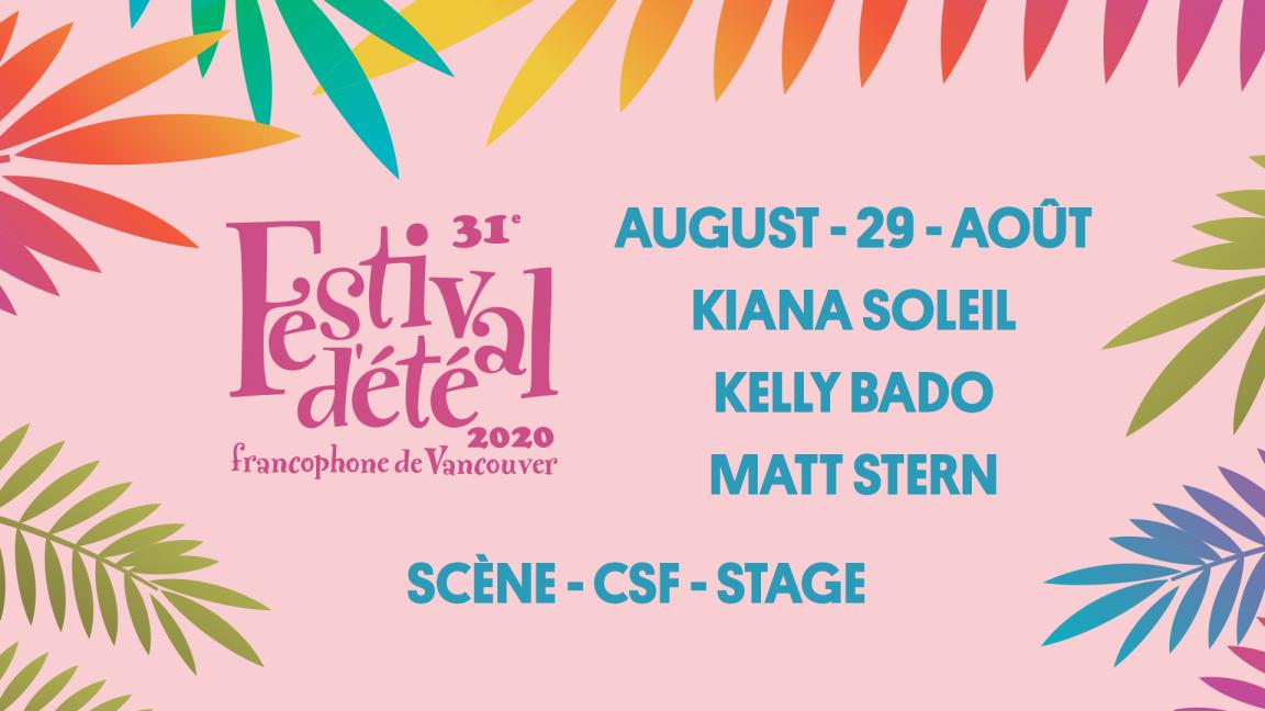 Matt Stern and Kelly Bado - Festival d'été francophone de Vancouver