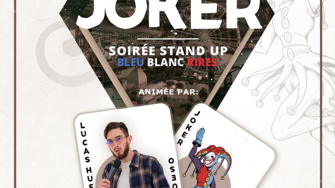 Le Joker // Soirée stand-up