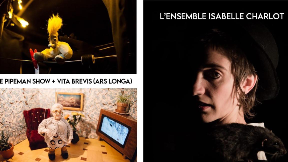 Le Pipeman Show // Vita brevis (ars longa) + L'ensemble Isabelle Charlot // Vendredis Sains