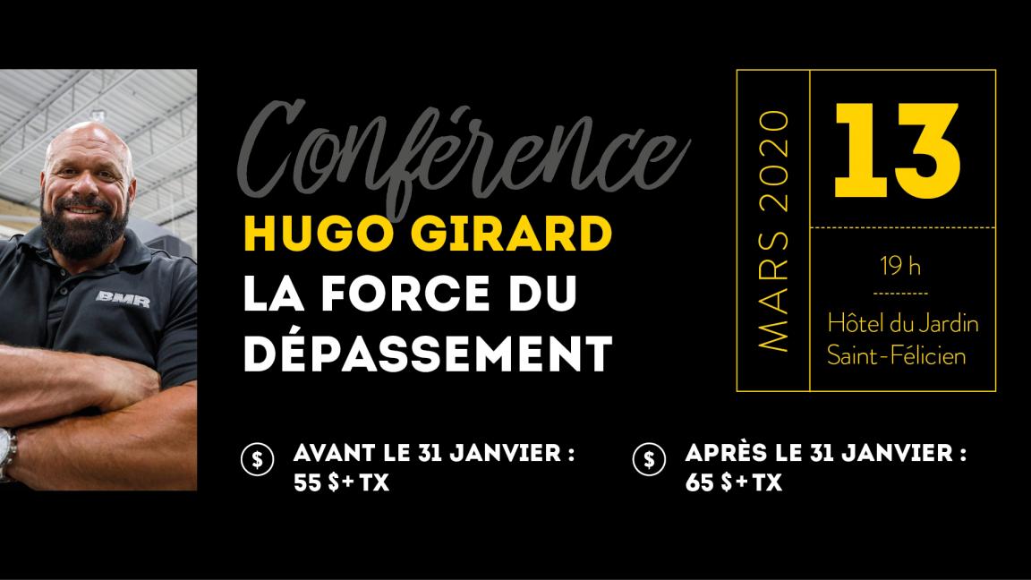 Conférence Hugo Girard