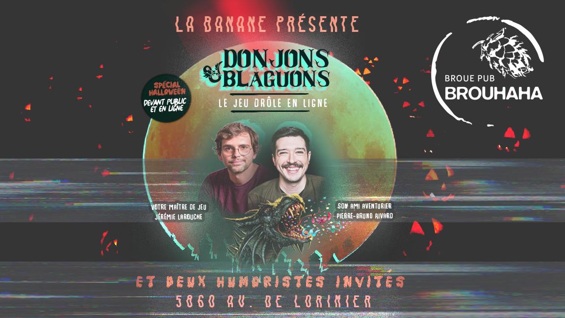 Donjons & Blaguons spécial Halloween
