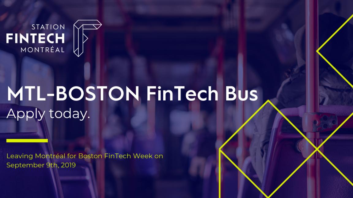 MTL-BOSTON FinTech Bus!