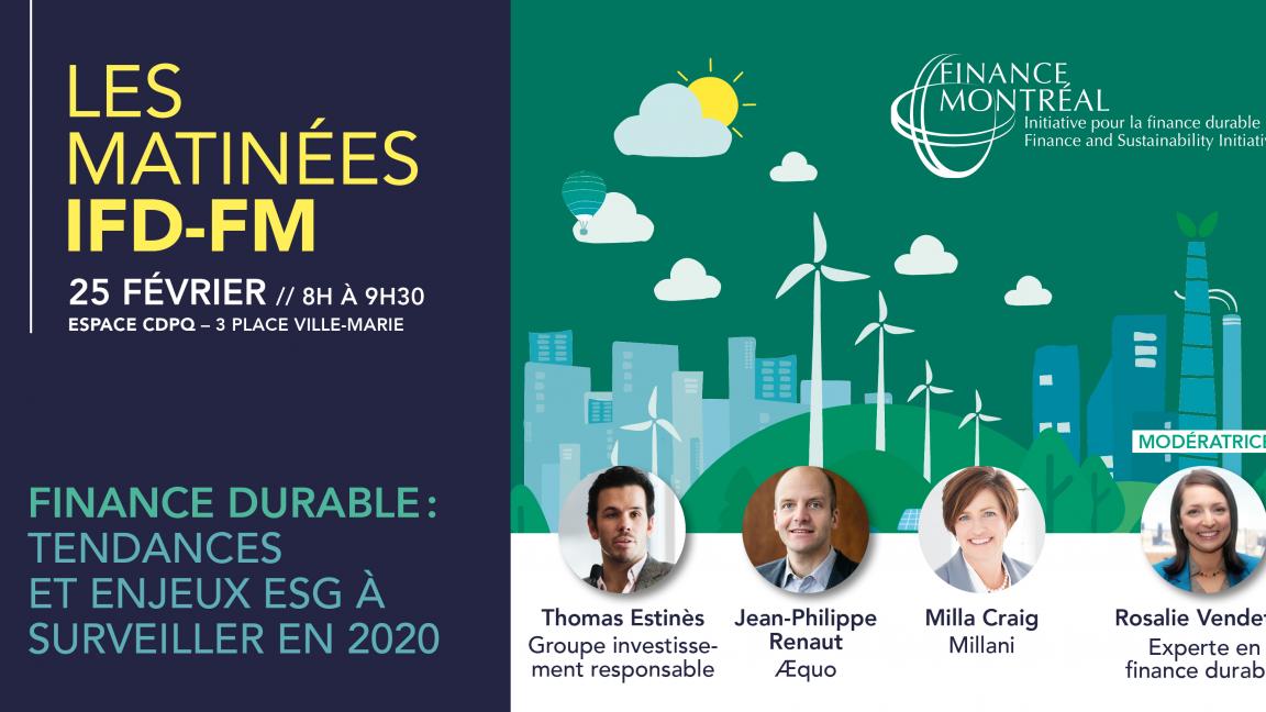 Finance durable : tendances et enjeux ESG à surveiller en 2020