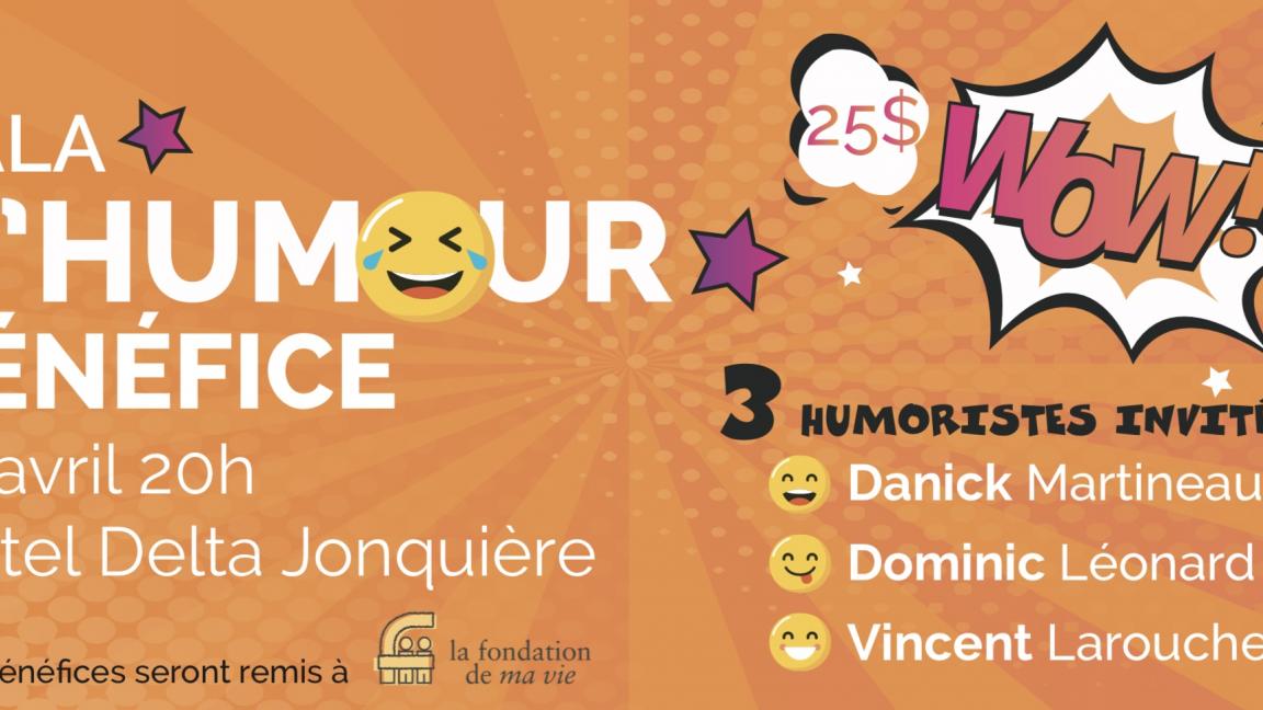 Gala d'humour bénéfice 2020