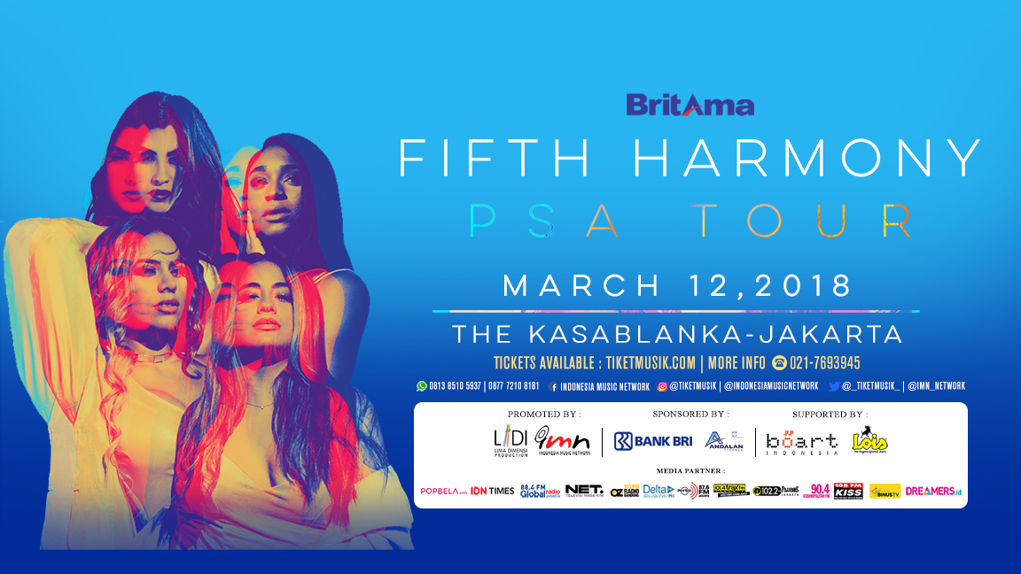 Fifth Harmony 'PSA Tour' Live In Jakarta
