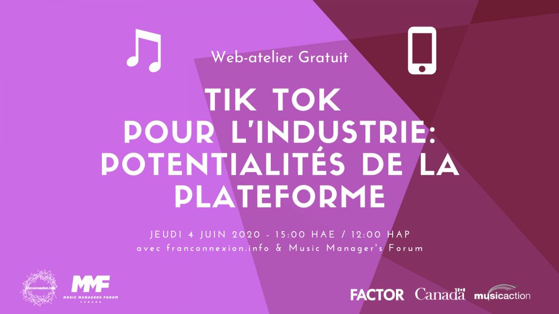Atelier | Tik Tok pour l'industrie: potentialités de la plateforme