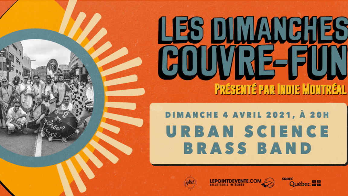 Les dimanches couvre-fun | Urban Science Brass Band + Urban Science #LeCypher