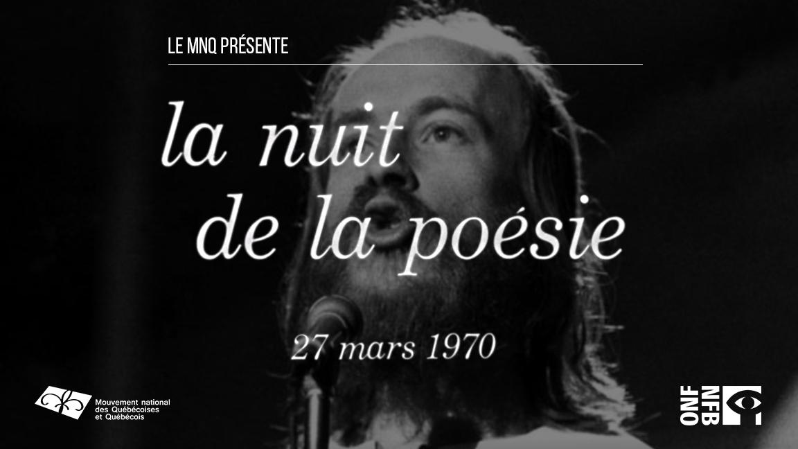 ANNULÉ - Le 50e de la nuit de la poésie