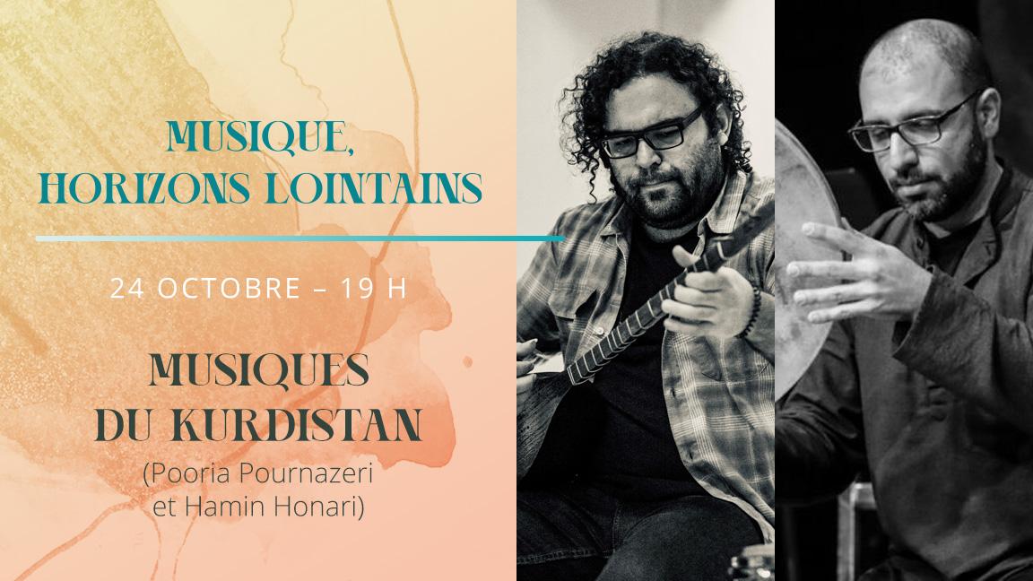 Musique, horizons lointains : Musiques du Kurdistan