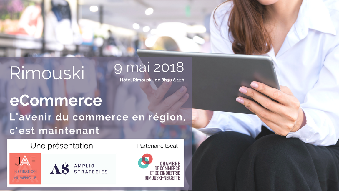 eCommerce - Conférence Rimouski