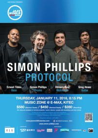 Ernest Tibbs, Simon Phillips,