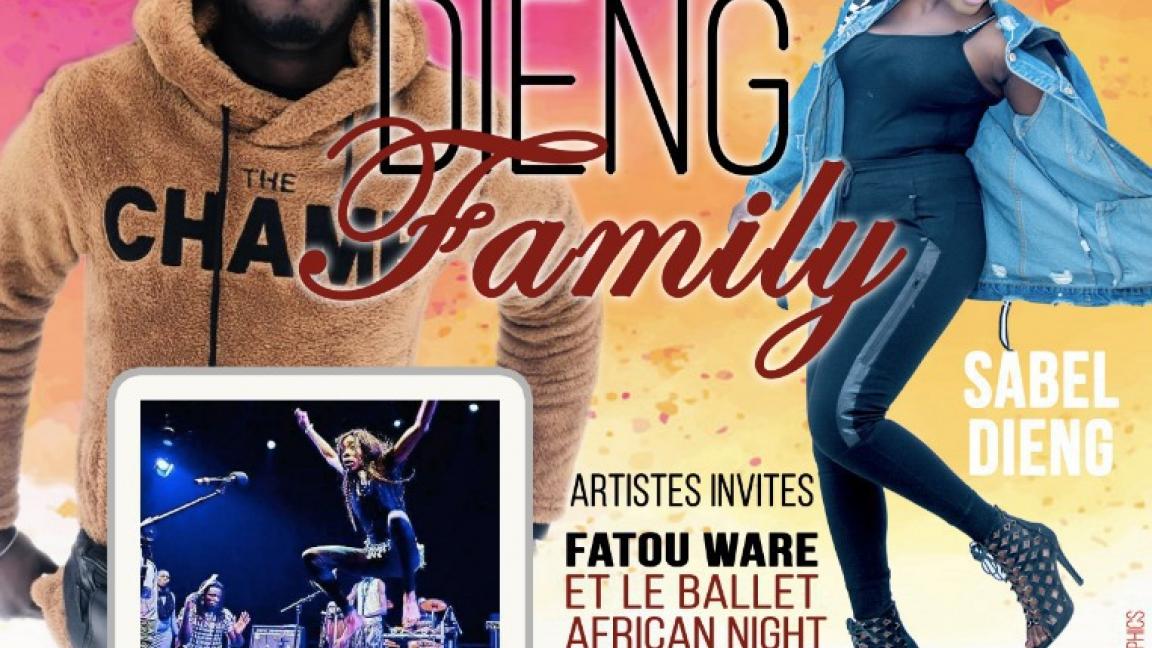 Dieng Family - Concert Bénéfice