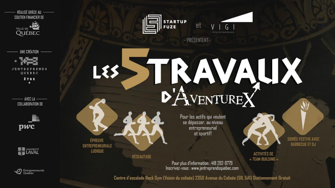 5 Travaux d'AventureX