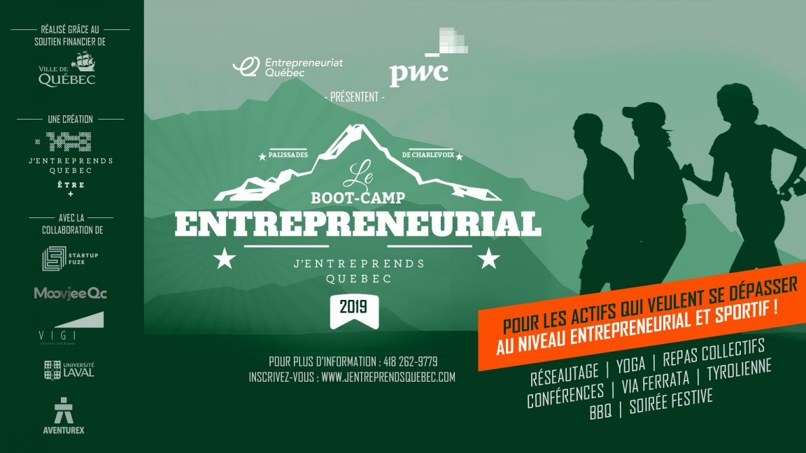 Boot Camp entrepreneurial en montagne