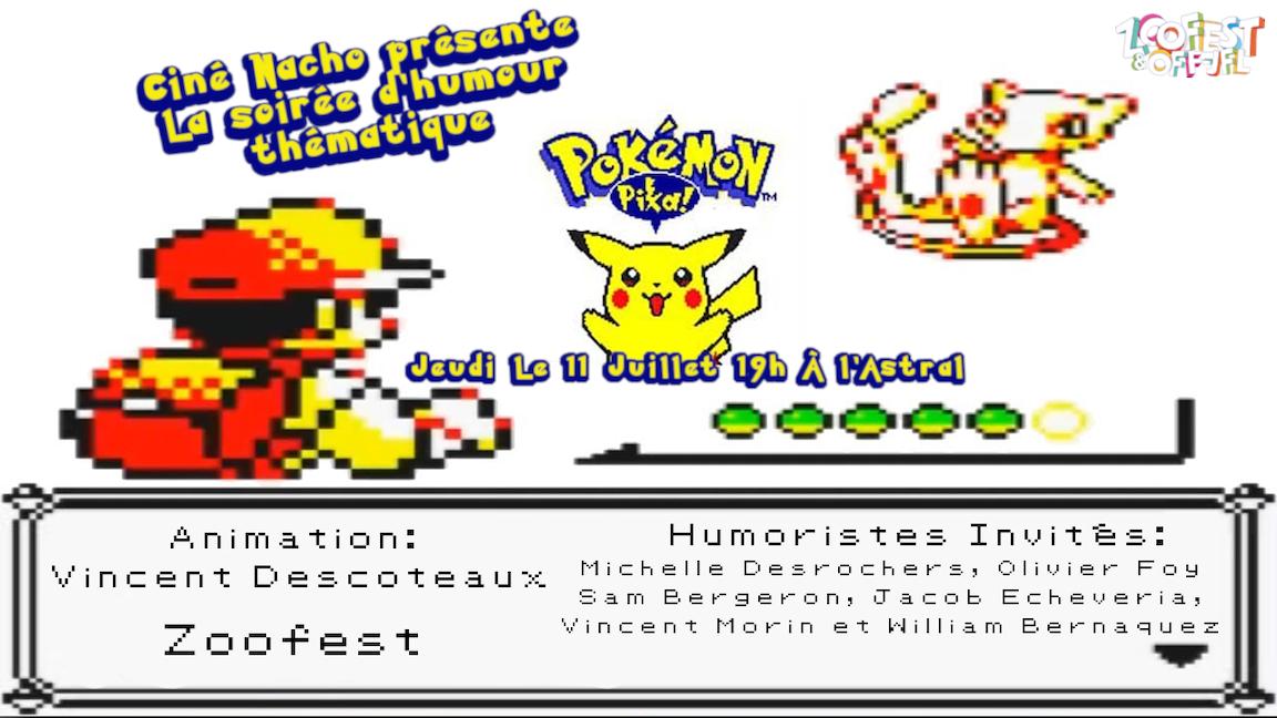 Ciné-Nacho : Pokémon