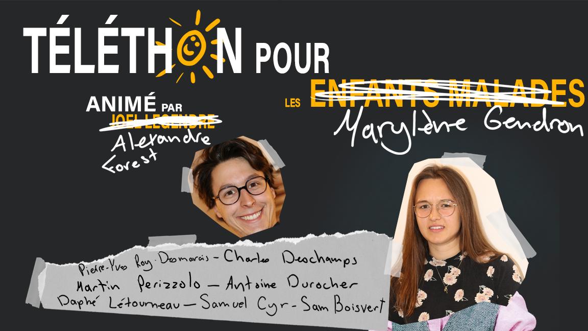 Téléthon pour Marylène Gendron