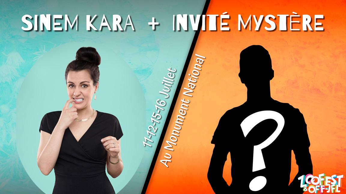 Sinem Kara + Invité Mystère